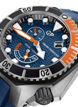 Girard-Perregaux Sea Hawk Blue & Orange Watch